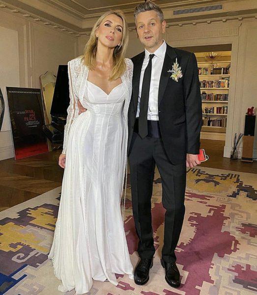 Светлана и Сергей на церемонии бракосочетания