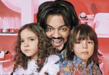 Кіркоров з дітьми Аллою-Вікторією і Мартіном