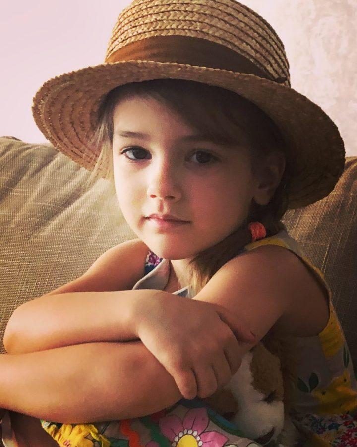 Дочка Юлії Зіміної Симона