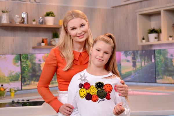 Лидия Таран с дочерью Василиной