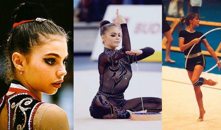 Аліна Кабаєва на початку спортивної карєрі