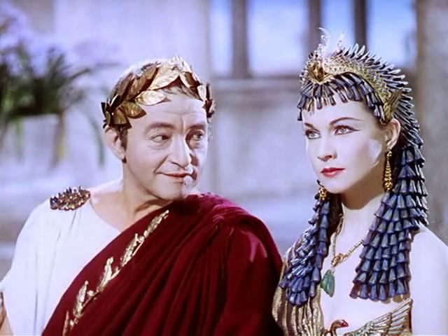 Юлій Цезар і Клеопатра
