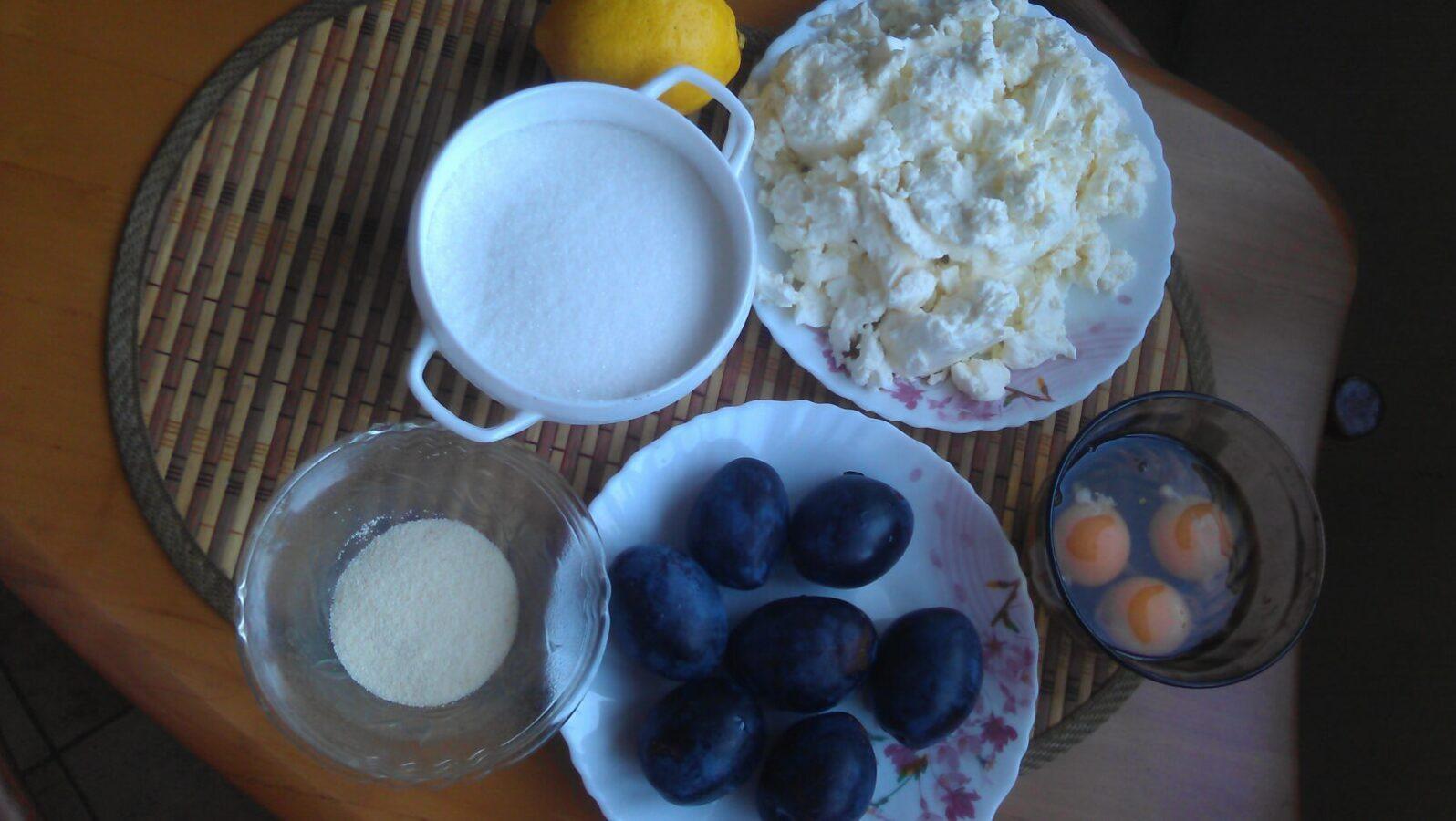 Ингредиенты для чизкейка