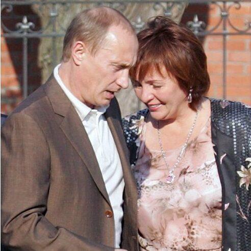 Володимир і Людмила Путіни