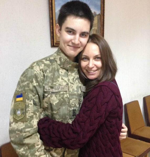 Лора Созаева с сыном