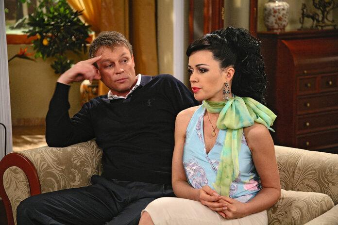 Сергій Жигунов і Анастасія Заворортнюк в «Моїй прекрасній няні»