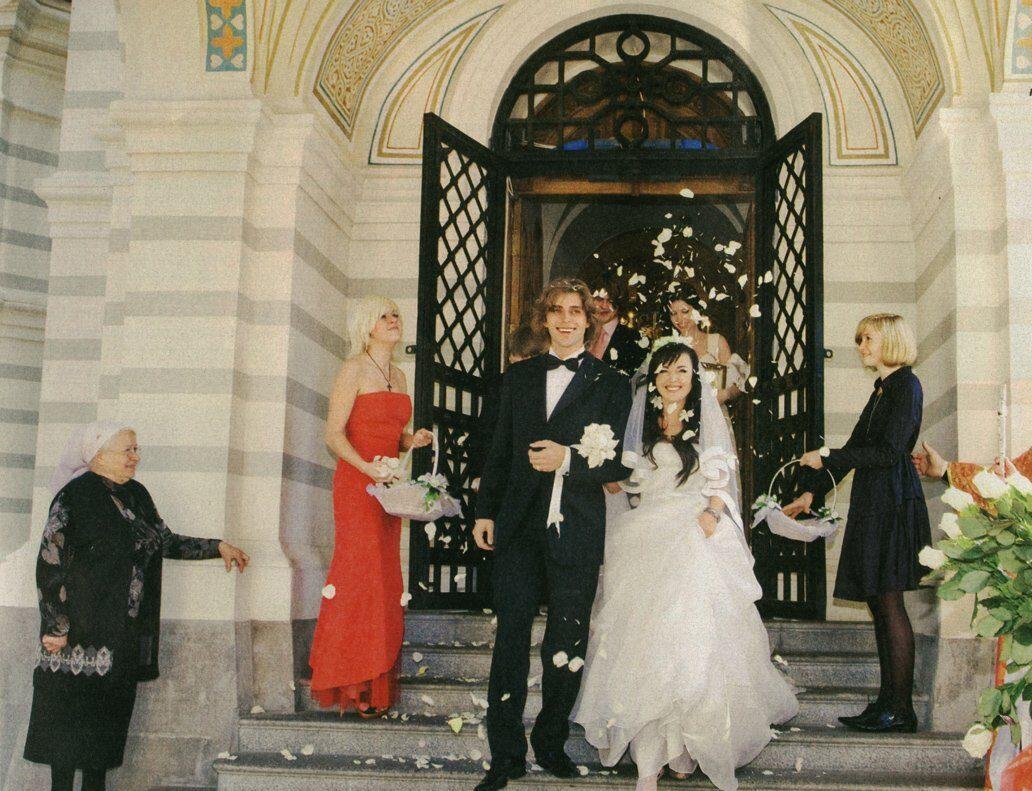 Венчание Анастасии Заворотнюк и Петра Чернышева в Форосе