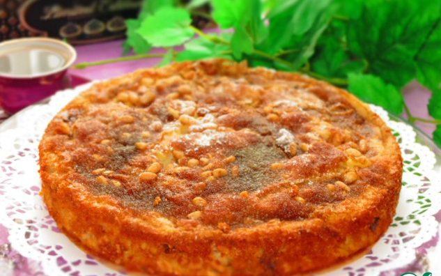 Готовый сицилийский пирог выглядит очень красиво