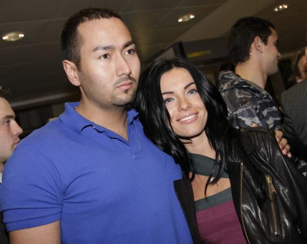 Юлия Волкова с бывшим мужем Парвизом Ясиновым