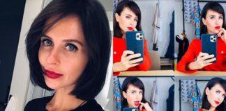 Карпович обрезала волосы