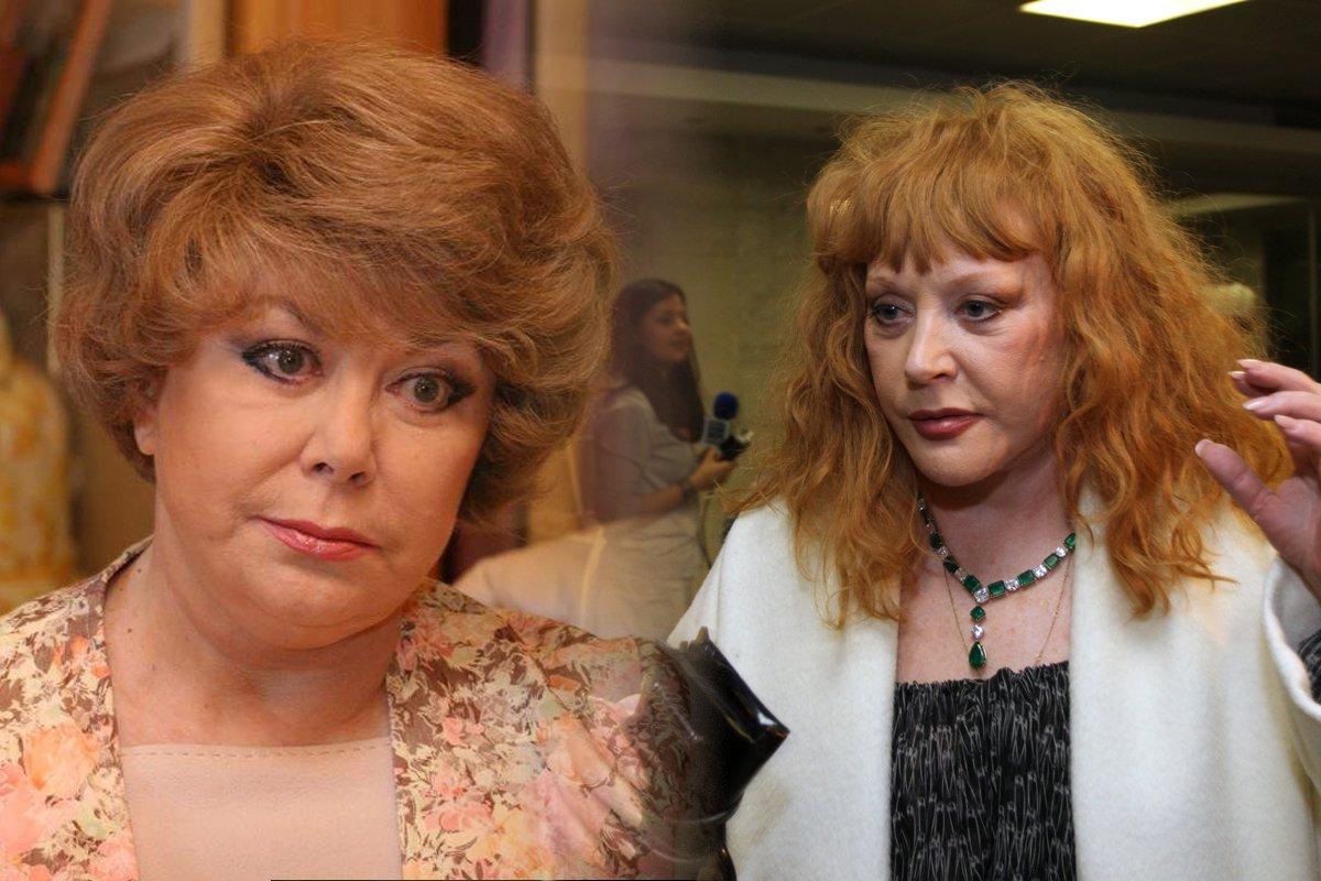 Едіта П'єха в 82 роки і Алла Пугачова в 71