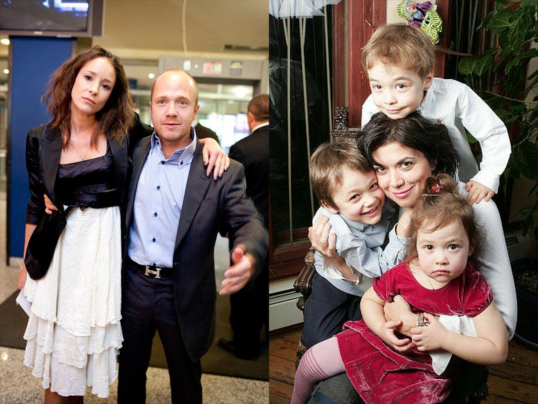 Ольга Сутулова (слева) увели Стычкина из семьи, 4-х детей не пожалела