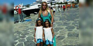 Камалия с дочками на отдыхе