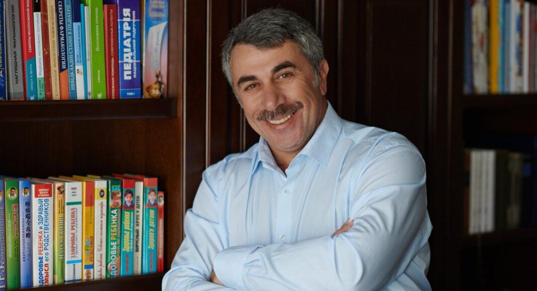 Доктор Евгений Комаровский поговорил с поклонниками о грудном вскармливании