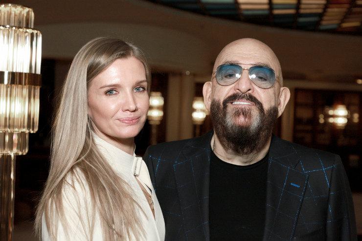 Михайло Шуфутинський з Світланою Юразовой