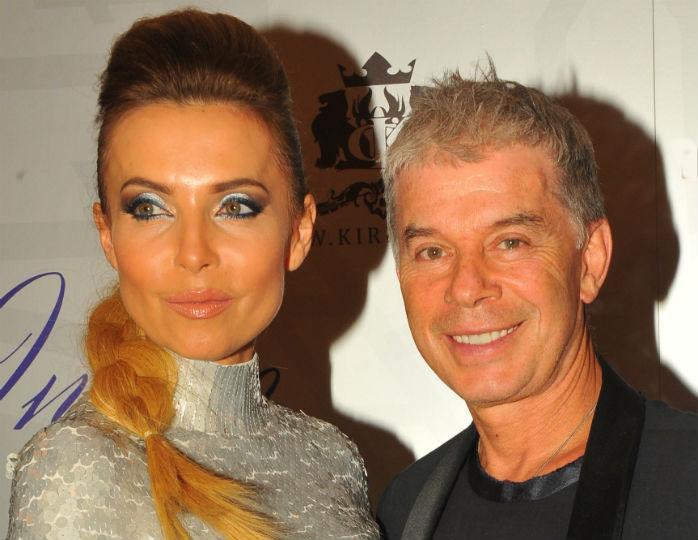 Олег Газманов з другою дружиною Мариною