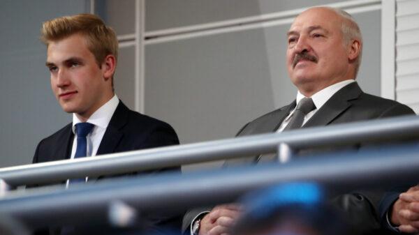 Николай и Александр Лукашенко