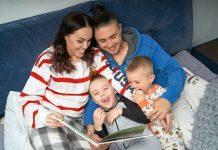 Alyosha і Тарас Тополя з дітьми