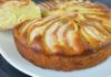 Пиріг на кефірі з грушами і яблуками