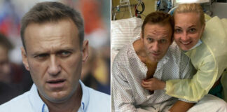 Олексій Навальний після отруєння