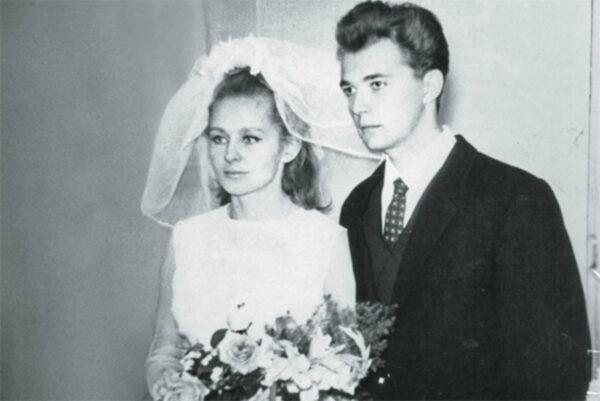 Ангелина Вовк со своим первым мужем Геннадием Чертовым
