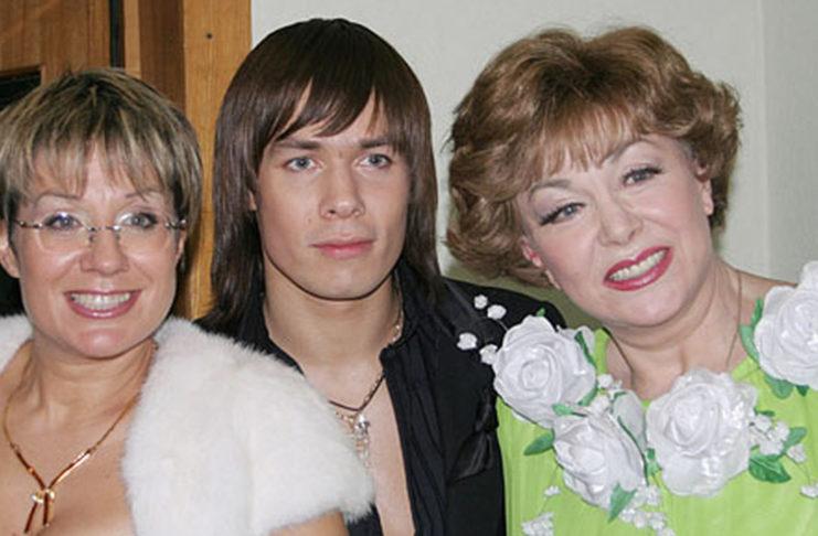 Эдита Пьеха, Стас и его мама