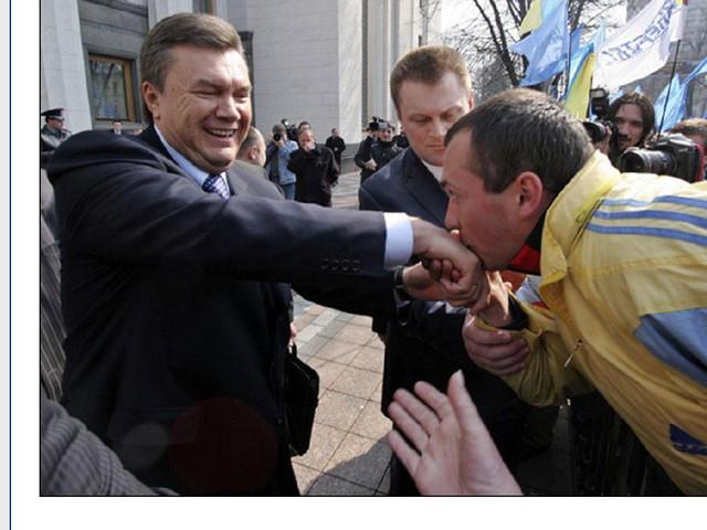 Янукович за такое не сердился