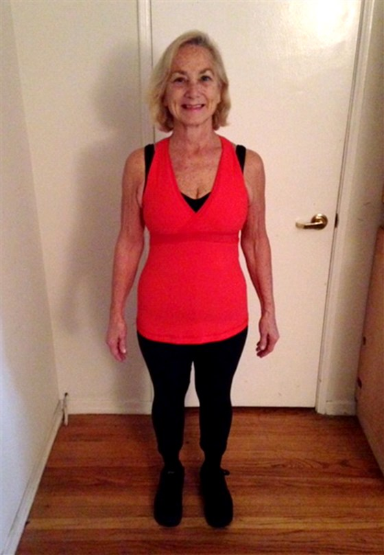 Пенсионерка похудела на 28 кг