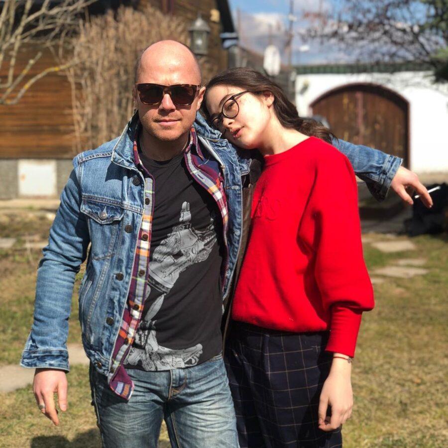 Стычкин с дочерью Александрой