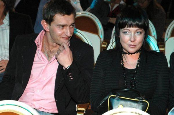 Константин Хабенский с покойной женой Анастасией