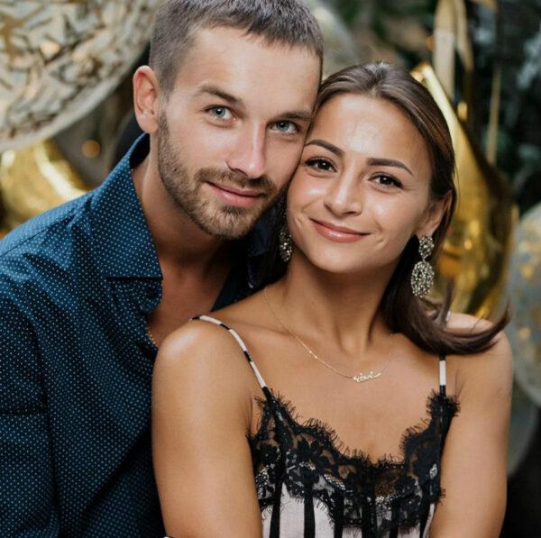 Илона Гвоздева с мужем Игорем Хомячуком