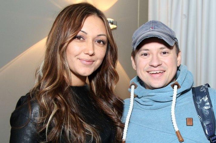 Андрій Гандулян з дружиною