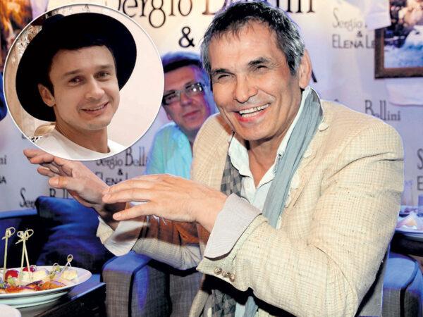 Бари Алибасов и его помощник Сергей Моцарь