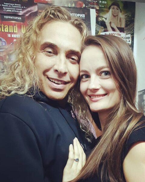 Сергей Глушко и его любовница Анастасия Шульженко