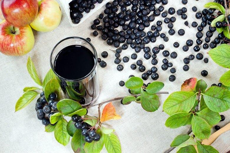 Сік чорноплідної горобини - еліксир здоров'я