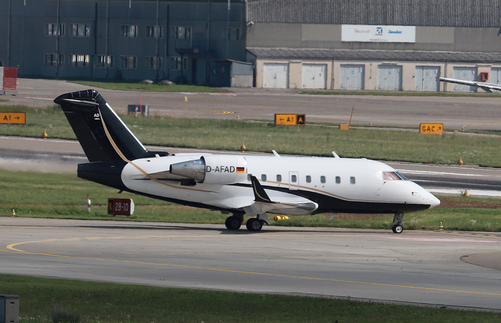 Самолет, на котором Кернеса перевезли в Германию