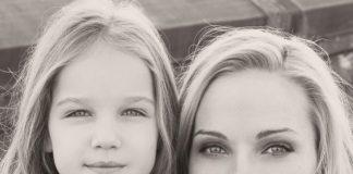 Даша Трегубова з донькою Поліною