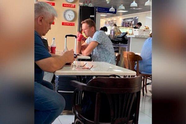 Чай, который Алексей выпил в аэропорту в день отравления