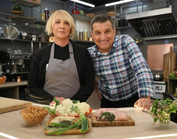 Елена Яковлева на шоу Отара Кушанашвили «Спасите, я не умею готовить»