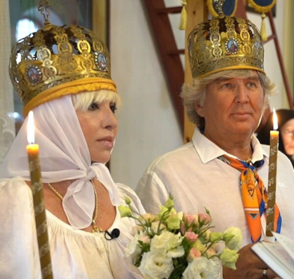 Венчание Валентины и Юрия