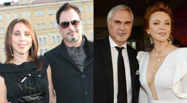 Валерий Меладзе с Ириной Меладзе и Альбиной Джанабаевой
