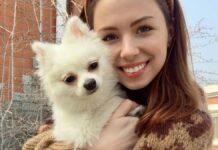 Анастасія Зінченко - дівчина з собачкою, яка під час епідемії відмовилася від евакуації в Україну, тому що собачку не пустили на борт