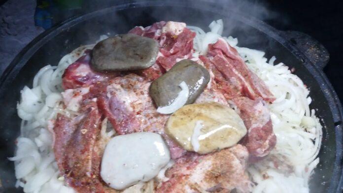 Блюдо Чингисхана
