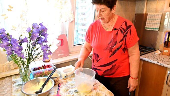 Приготовление кекса