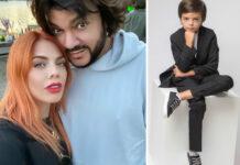 Анастасія Стоцька, Філіп Кіркоров і син співачки Саша