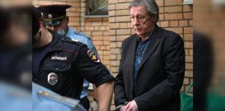 Арестованный Михаил Ефремов