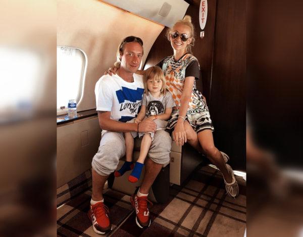 Семья Рудковской и Плющенко живет в роскоши