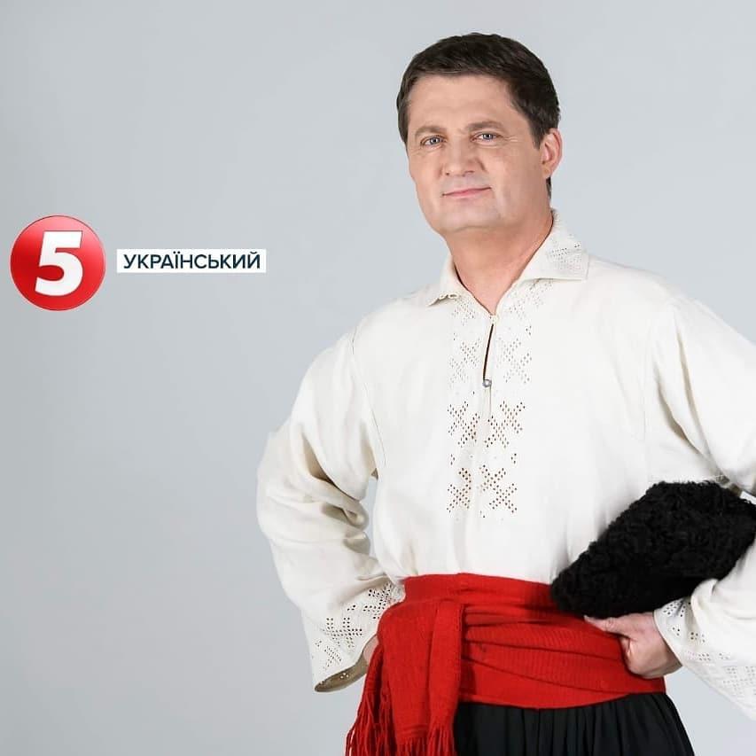 Ігор Кондратюк в національному костюмі