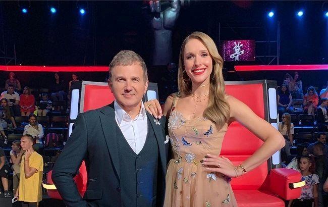 Катя і Юрій на фіналі шоу Голос. діти 2