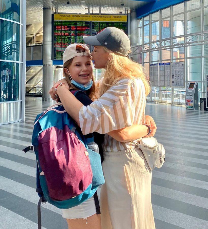 Лидия Таран и дочка Василина сейчас